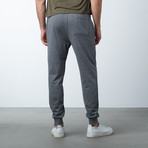 Slim-Fit French Terry Joggers // Charcoal (S)