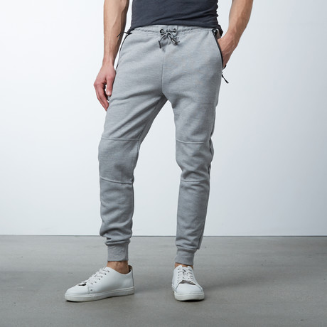 Tech Fleece Jogger Sweatpants // Heather Gray (S)