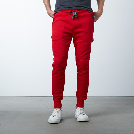 Tech Fleece Jogger Sweatpants // Red (S)
