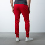 Tech Fleece Jogger Sweatpants // Red (XL)