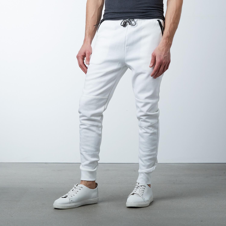 09b473339 Tech Fleece Jogger Sweatpants // White (S) - Ethan Williams - Touch ...