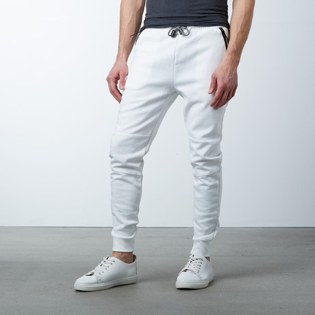 Tech Fleece Jogger Sweatpants // White (S)