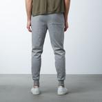 Cotton Stretch Twill Joggers // Dark Grey (XL)