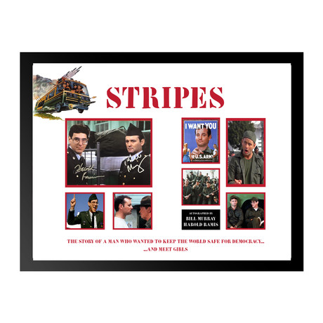 Signed Movie Collage //  // Stripes
