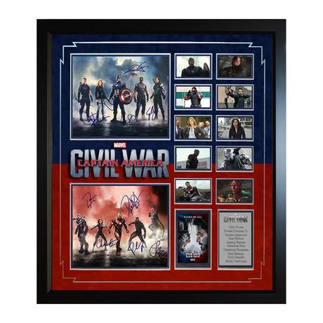 Signed Collage // Captain America Civil War