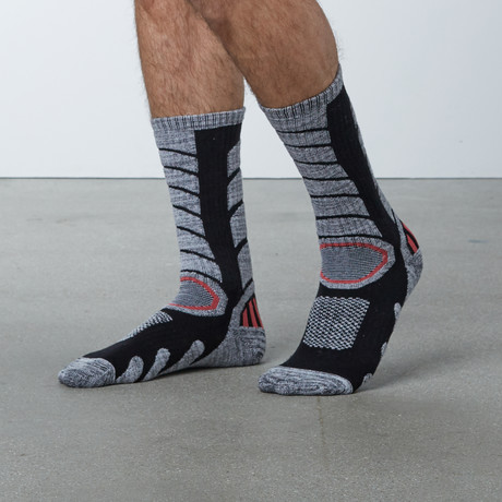 Compression Tall Ski Socks