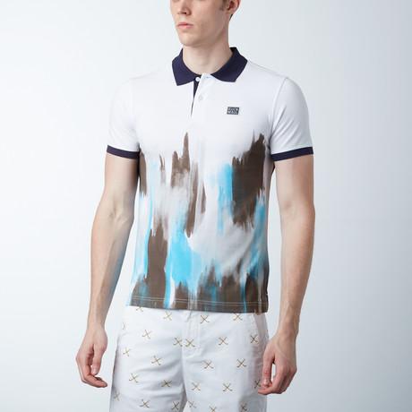 George Polo Shirt // White
