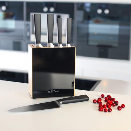 Fino Knives // 5 Piece Set (Black)