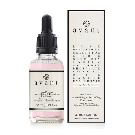 Age Prestige Antioxidizing + Detoxifying Rose Serum