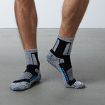 Compression Mid Ski Socks (Black)