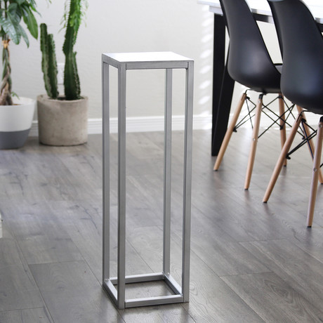Sokol Table // Silver (Small)