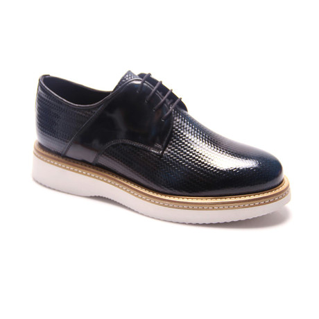 Reprise // Textured Derby // Dark Blue (Euro: 40)