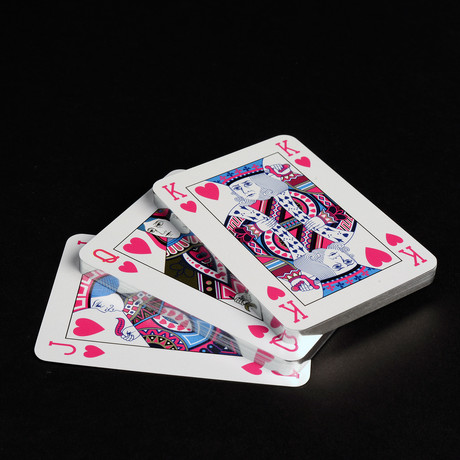 Playing Cards // Single Deck Hot Pink