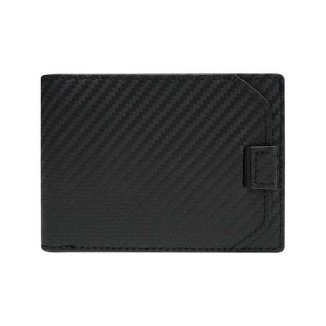 Zero 2 Slim Bi-Fold Wallet // Carbon Fiber Leather