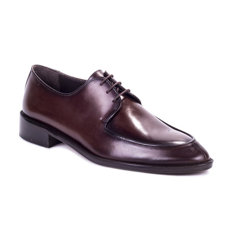 Duster Leather Derby // Brown