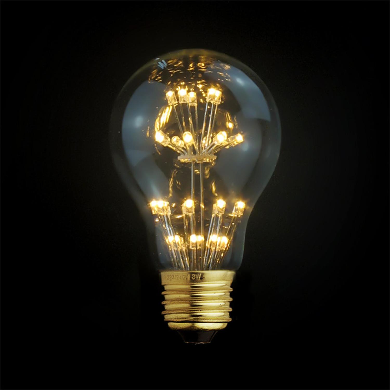 E27 Led Edison Fireworks Light Bulb Type A Light With