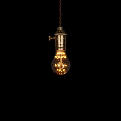 E27 LED Edison Fireworks Light Bulb // Type A