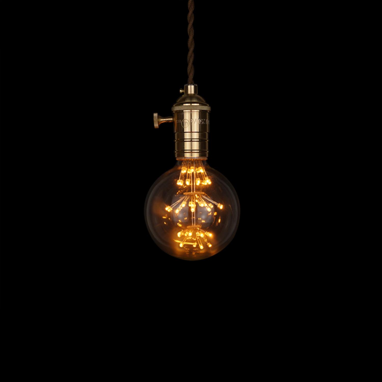 E27 Led Edison Fireworks Light Bulb Type G