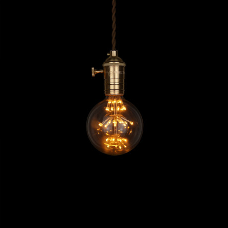 E27 LED Edison Fireworks Light Bulb // Type G