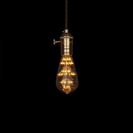 E27 LED Edison Fireworks Light Bulb // Type S