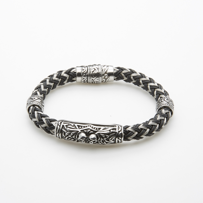 Zig Zag Jewellery: Zigzag Bracelet + Antic Ornament