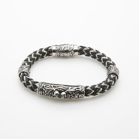 Zigzag Bracelet + Antic Ornament