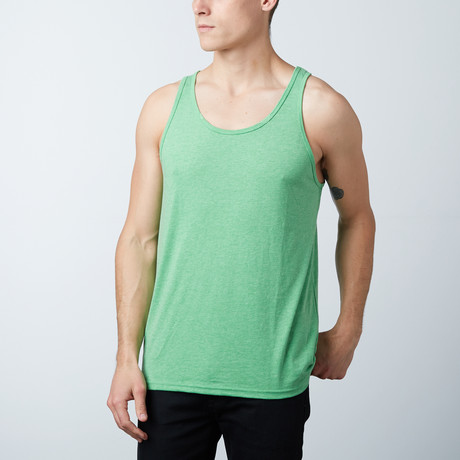 Ultra Soft Semi-Fitted Tank Top // Green