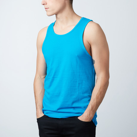 Ultra Soft Semi-Fitted Tank // Turquoise (S)