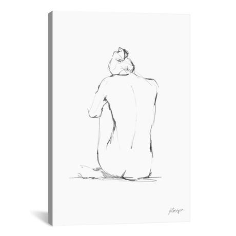 """Figure Contour IV // Ethan Harper (18""""W x 26""""H x 0.75""""D)"""