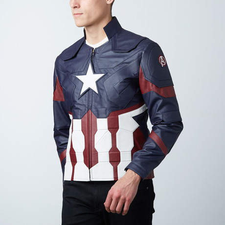 American Captain Star Jacket // Blue (XS)