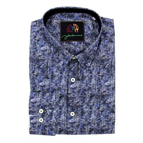 Virgil Woven Shirt // Blue