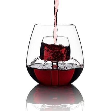 Stemless Aerating Wine Glasses // Set of 2