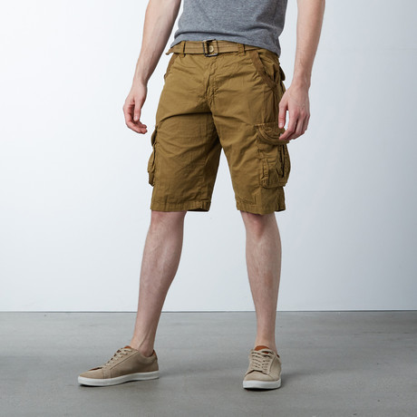 Solid Shorts // Brown