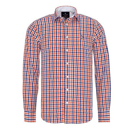 Plaid Shirt // Orange