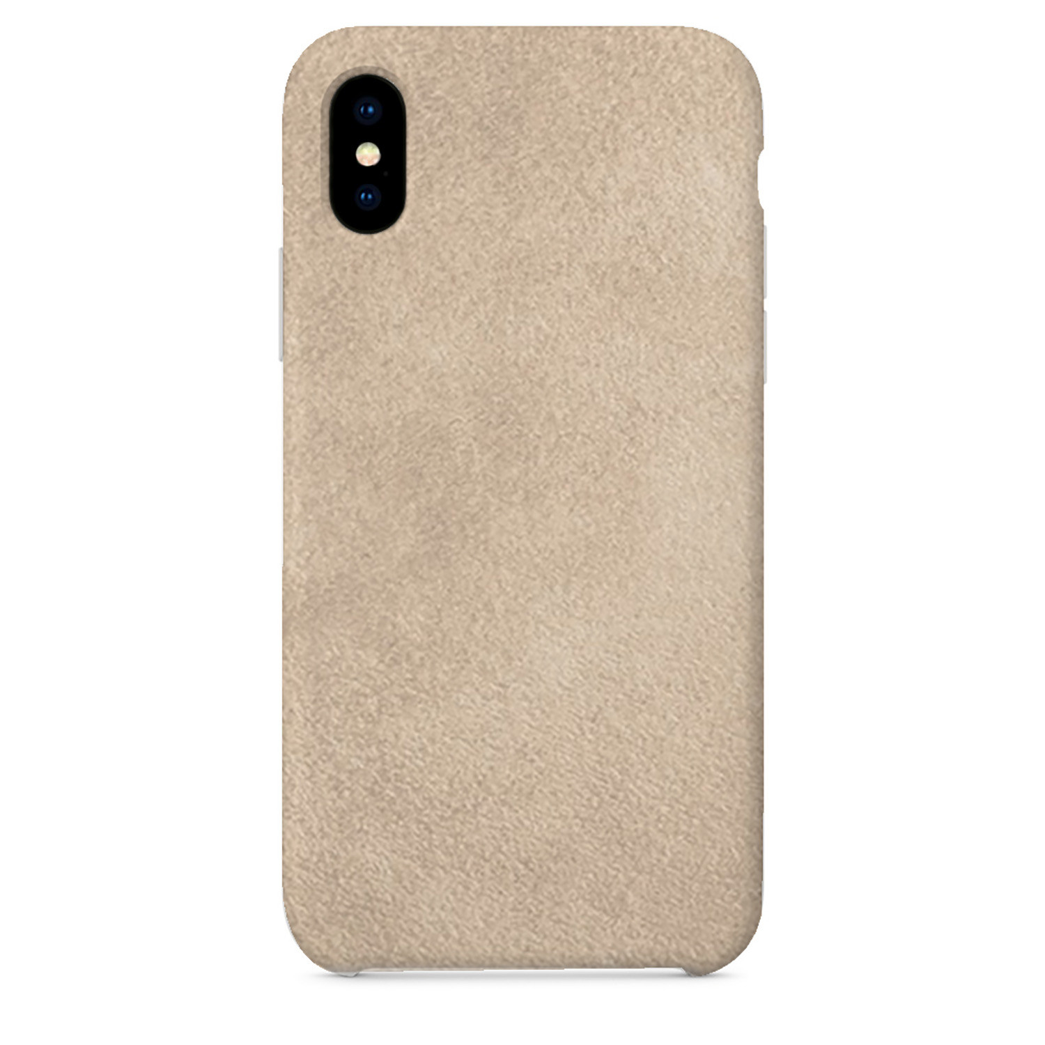 iphone xs suede case