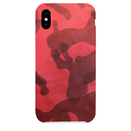 Army Lamb iPhone Case // Red (iPhone 7/8)