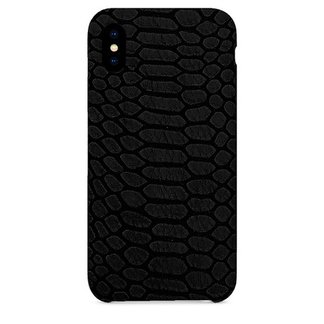 Embossed Python iPhone Case // Black (iPhone 7/8)