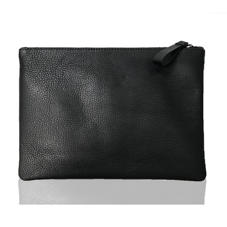 James Pouch (Black Leather)