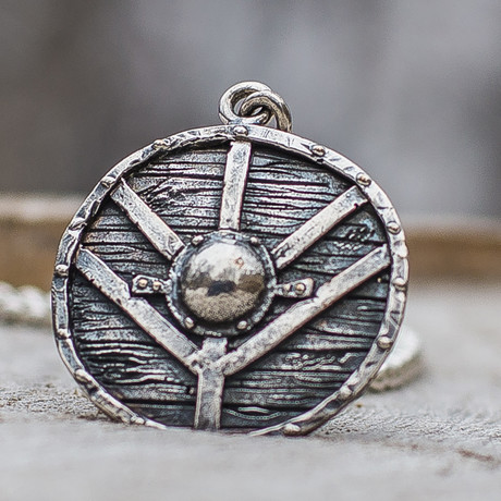 Viking Shields Collection // Lagertha's Shield // Silver