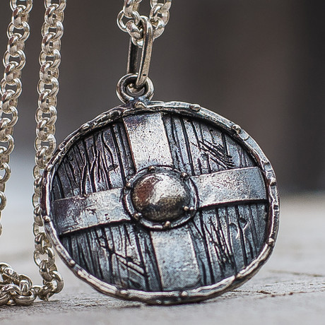 Viking Shields Collection // Rollo's Shield // Silver
