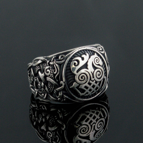 Viking Collection // Mammen Ornament + Sleipnir Ring (5)