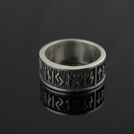 Viking Collection // Elder Futhark Runes Band (5)