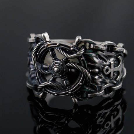 Handwheel Symbol Ring (6)
