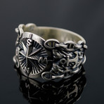 Compass Symbol Ring (8)