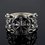 Compass Symbol Ring (6)