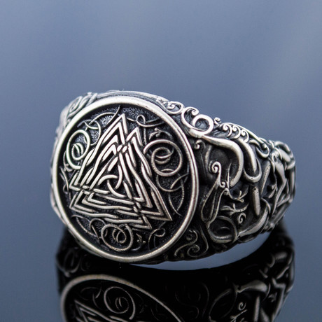 Viking Collection // Urnes Ornament + Valknut Ring (5)