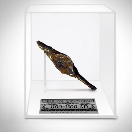 Ancient Medieval Crusader Arrow Head II // Museum Display