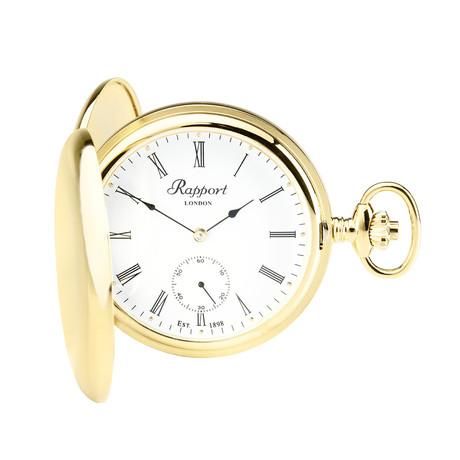 Rapport Oxford Hunter Case Pocket Watch Manual Wind // PW10