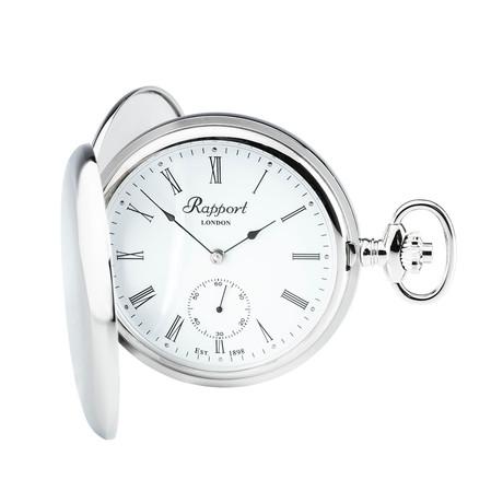 Rapport Oxford Hunter Case Pocket Watch Manual Wind // PW11