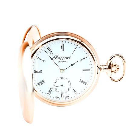 Rapport Oxford Hunter Case Pocket Watch Manual Wind // PW12